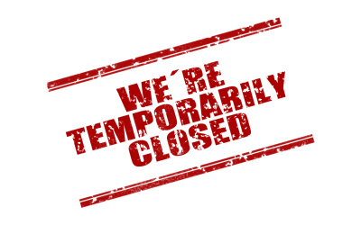 Store is Currently (Temporarily) Closed